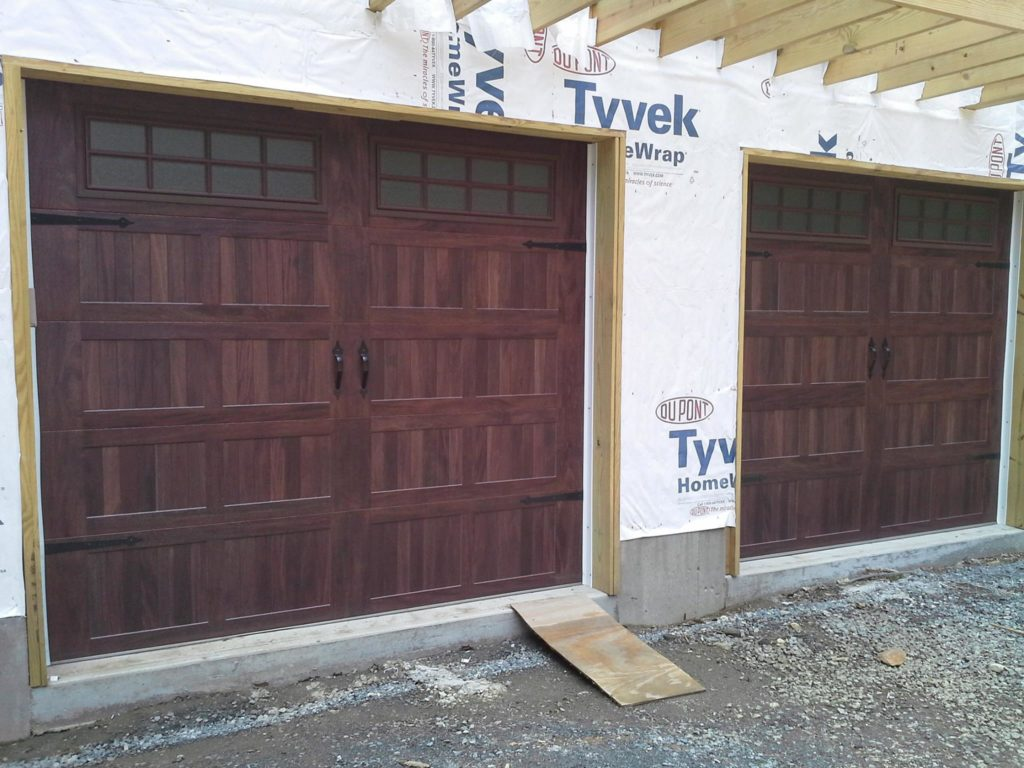 Residential garage door portfolio champion overhead door carriage style door installation rubansaba