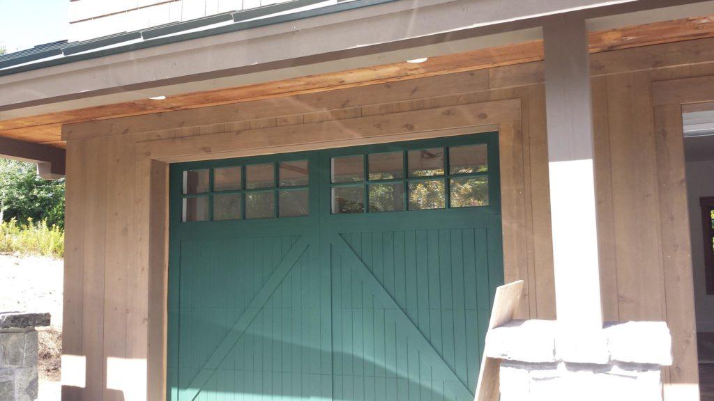 CHI Wood Faced Doors in Stratton Mountain VT & Residential Garage Door Portfolio | Champion Overhead Door