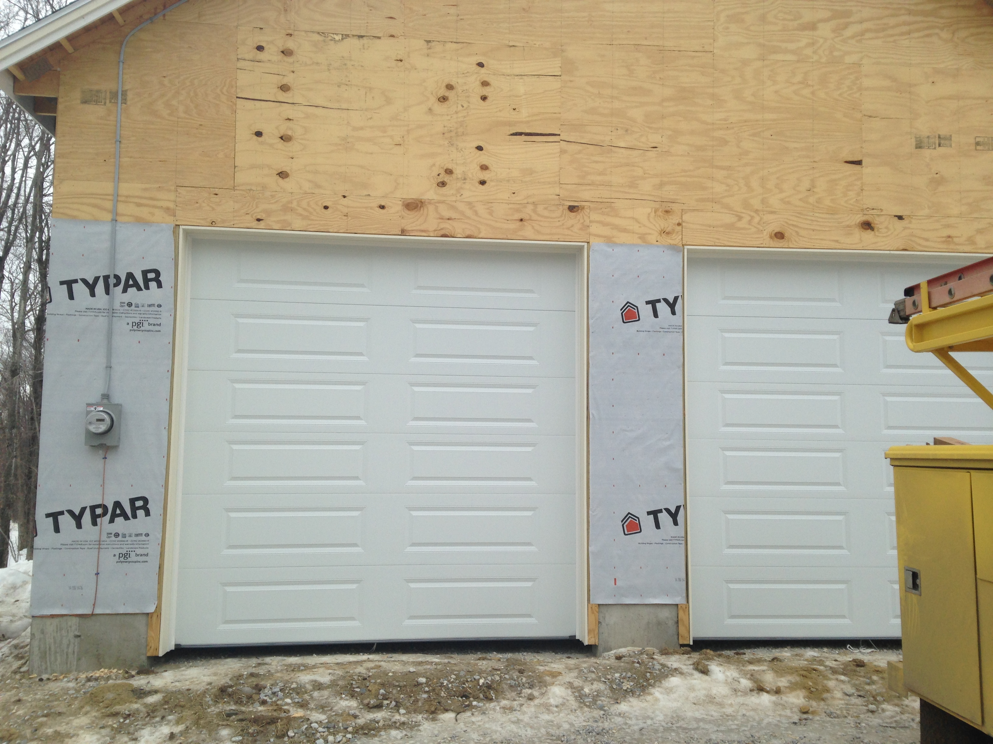 Awesome After Picture: CHI Overhead Door Installation In West Dover, VT