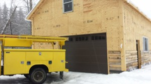 Installing New Garage Doors in West Dover, VT