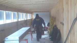 Installing C.H.I. Overhead Doors in Brattleboro, VT