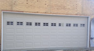 C.H.I. Raised Panel Garage Doors Installed in Dover, VT