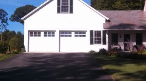 Installed Custom Wood Amarr Garage Doors