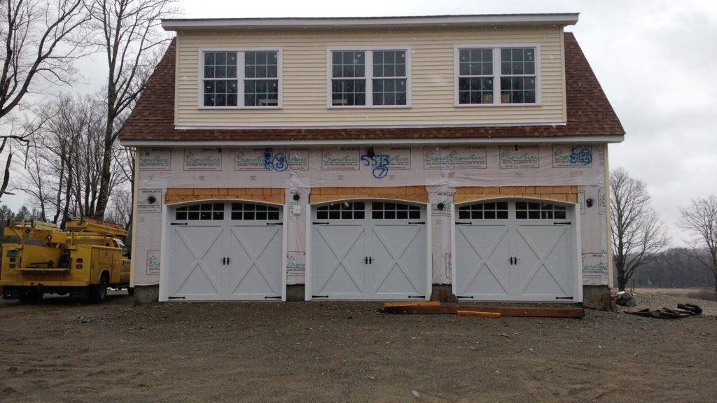 3 Car Garage Door Installation